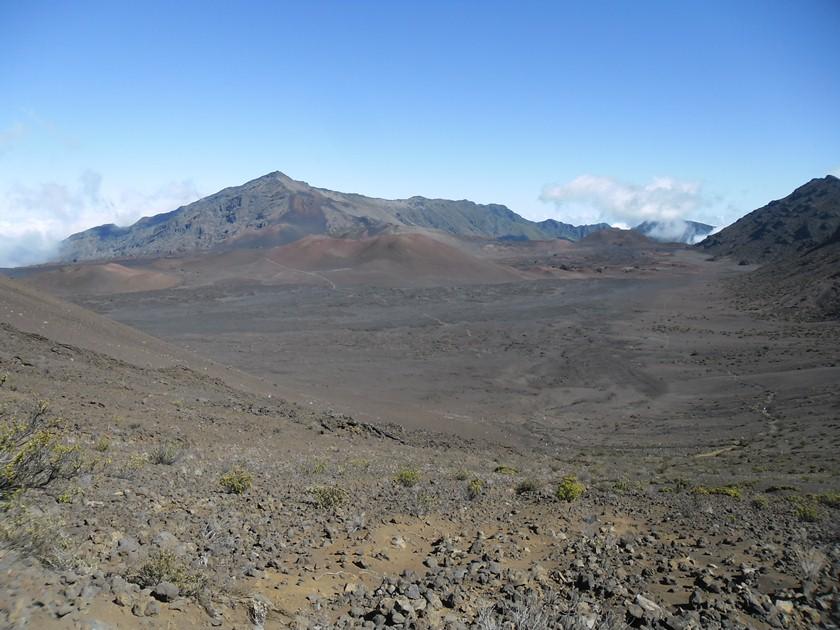 Randonnée au tour du volcan